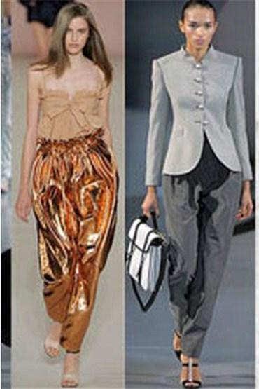 Hem şık hem muzip: Harem pantolonlar